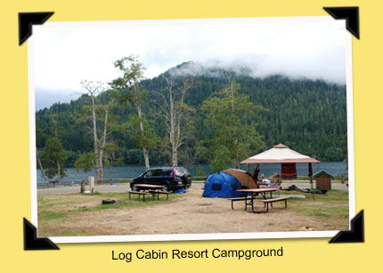 Teardrop trails lake cresent olympic national park for Log cabin resort lago crescent wa