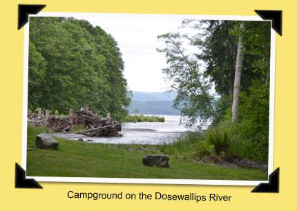 Teardrop Trails: Dosewallips State Park, Washington on