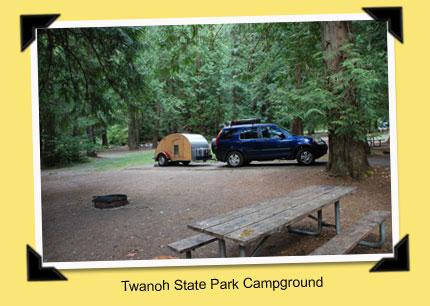 Teardrop Trails: Twanoh State Park, Washington